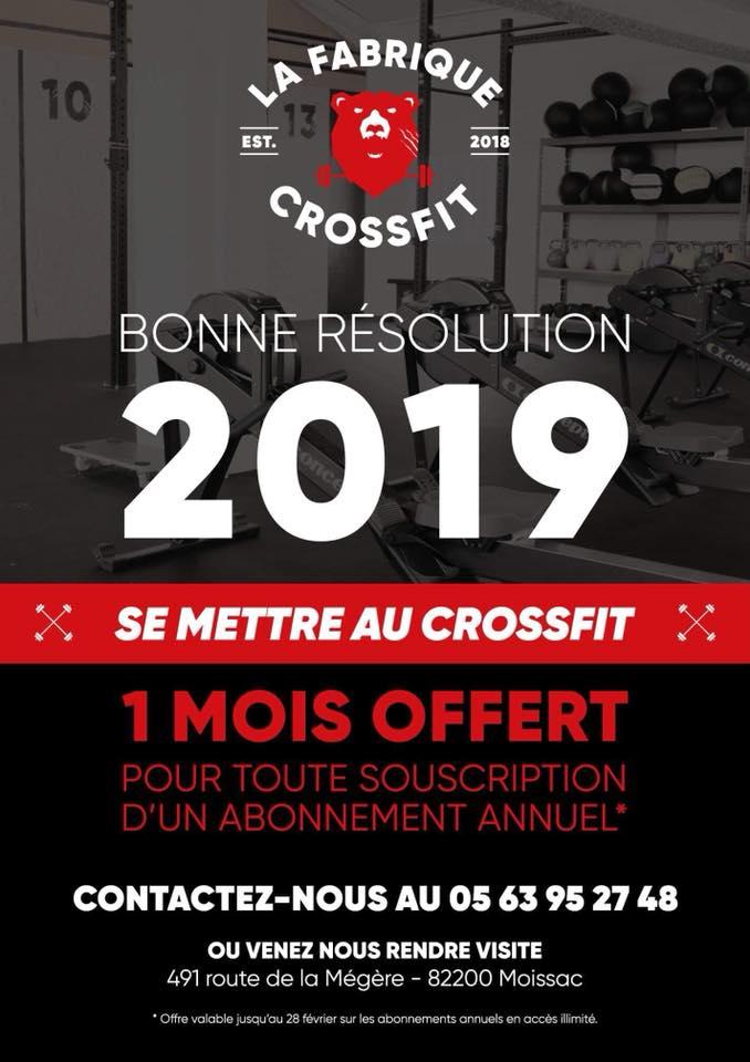 La Fabrique Crossfit - Salle de Crossfit à Moissac - Tarn et Garonne